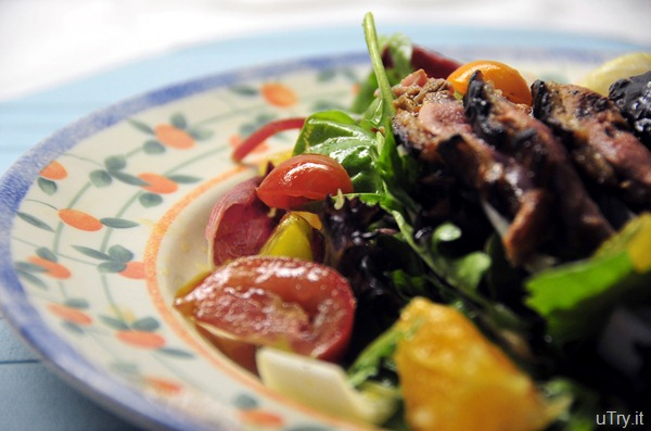 Orange Duck Salad