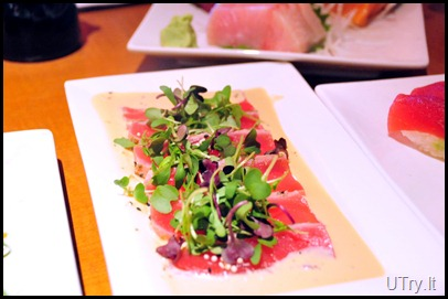 Seared Tuna with Ginger Sauce