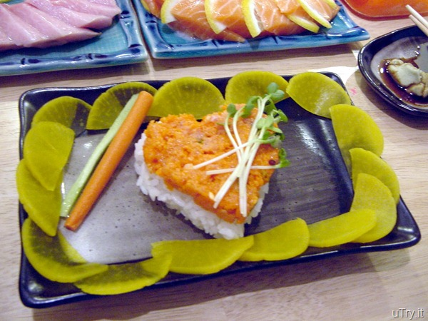 Spicy Tuna Over Sushi Rice