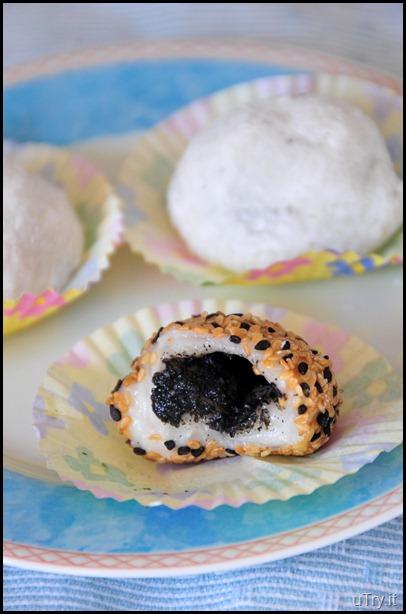 Black Sesame Seed Mochi