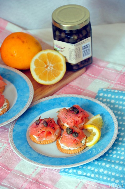 Smoke Salmon--Appetizers