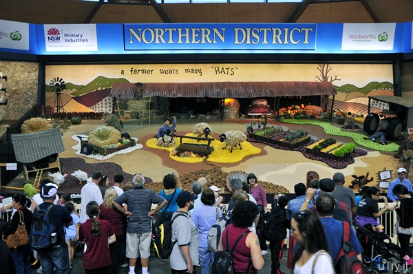 Agriculture Display-Australia Easter Show