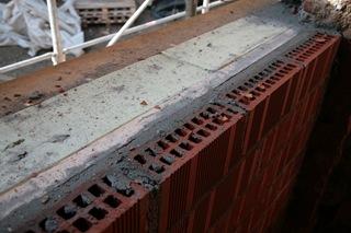 taglio termico sottofinestra