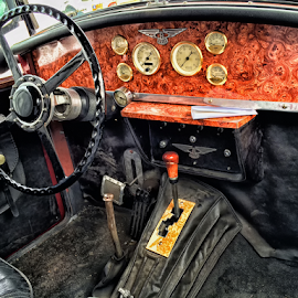 Old Car by Robert Namer - Instagram & Mobile iPhone ( hdri, old, iphoneography, old car, iphoto edited, garage, collection, iphone, antiques )