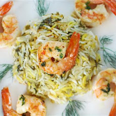 Rice with Shrimp and Fresh Herbs Persian Gulf-Style