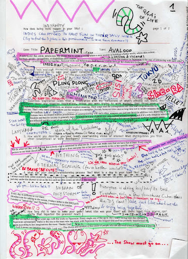 papermint scrabble