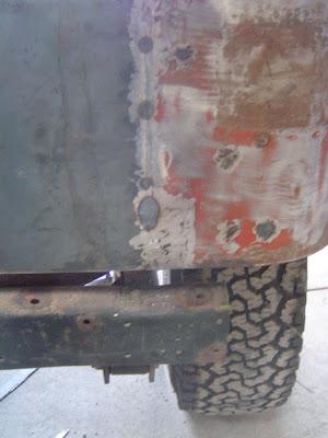 FJ40 Rust Patch
