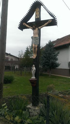Kriz Jesus in Marija Izakovci