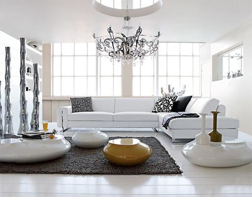 Wohnzimmermobel Ideen : Beautiful White Living Room Furniture