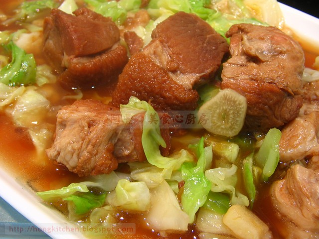 Stir-Fried Stew Pork with Cabbage