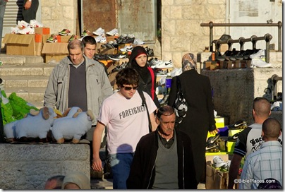 Foreigner near Damascus Gate, tb010910292