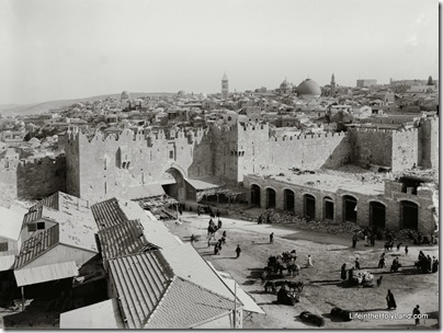 Damascus Gate and Old City, mat06658