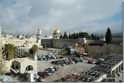 Western Wall and Dome of Rock from southwest, tb122604408