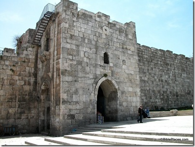 Herod's Gate. credit: blog.bibleplaces.com
