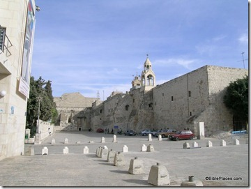 Bethlehem Church of Nativity courtyard, tb102603522