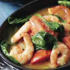 Quick Prawn Balti