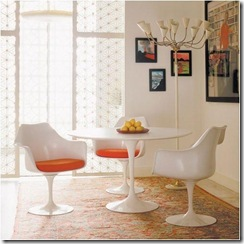 Tulip-Dining-Set-ArmChairs-and-Saarinen-Dining-Tables-Interior-Dining-Room-Furniture