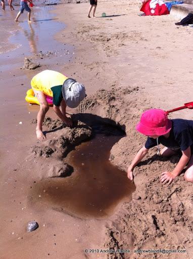 Boys & Sand