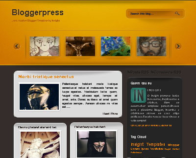 Blogger Template | Bloggerpress