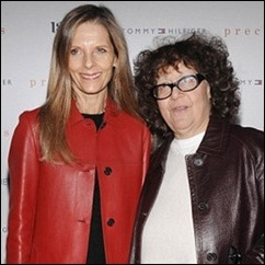 Ingrid Sischy e Sandy Brant