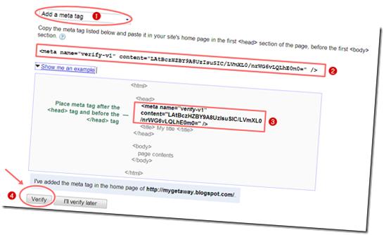 3.การทำ Sitemap ให้ Blogger