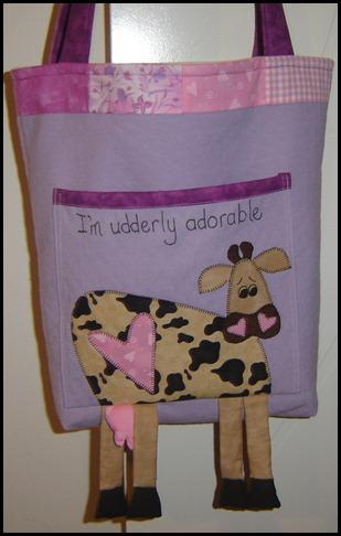 udderley adorable bag