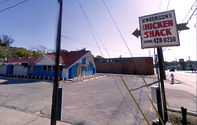 google streetview chicken shack