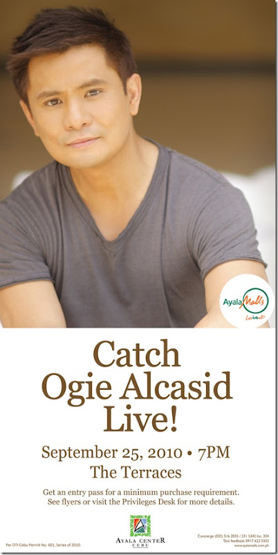 ogie alcasid live the terraces cebu