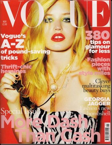 Vogue UK de novembro