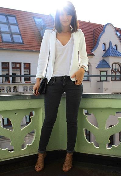 white blazer golestaneh street style 2