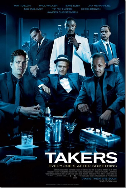 TAKERS 2010 Film Poster