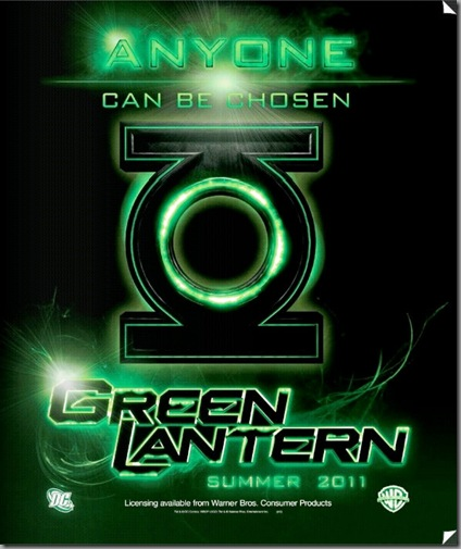 green latern 2011 movie poster