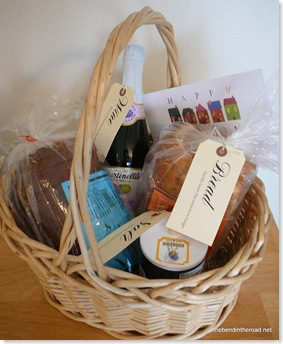 Its a Wonderful  Life Housewarming gift basket