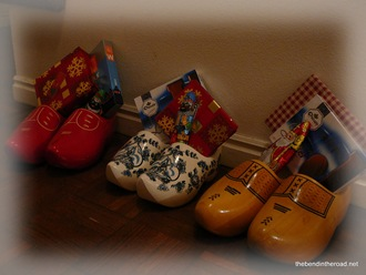 Shoes out for Sinterklaas