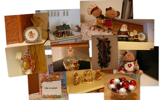 Gingerbread Kitchen Collage