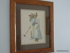 Norman Rockwell for a wedding present