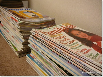 bye bye Family Fun magazines