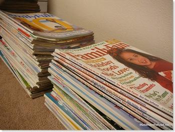 bye bye Family Fun magazines