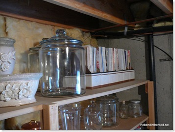 butler's pantry in the basement
