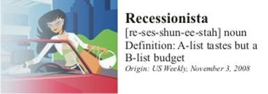 recessionista girl 3