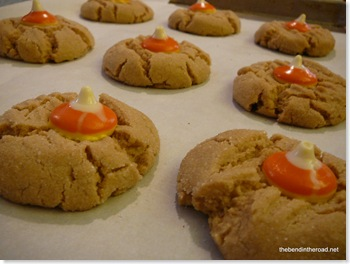 Peanut Butter Cookies with CC Kisses