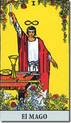 carta tarot el mago alquimista
