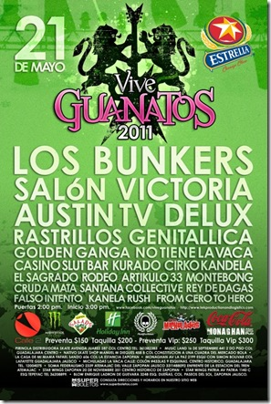 vive guanatos cartel 2011
