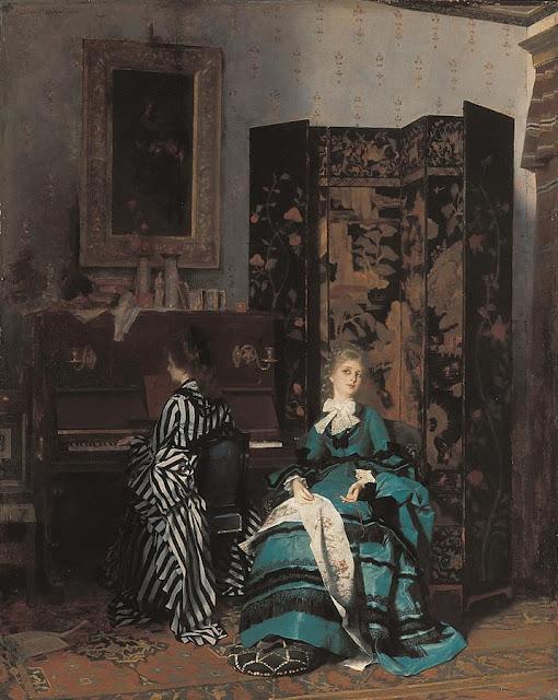 Zugeschrieben interieurszene 1880