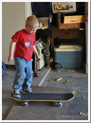 11-21-10 Zane skateboarding 1