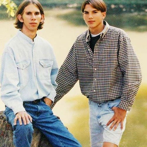 ashton kutcher twin brother died. Maybe cause my twin brother