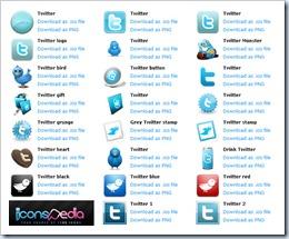 Blauer Twitter-Vogel - rasend schnell bekannt gewordenes Symbol