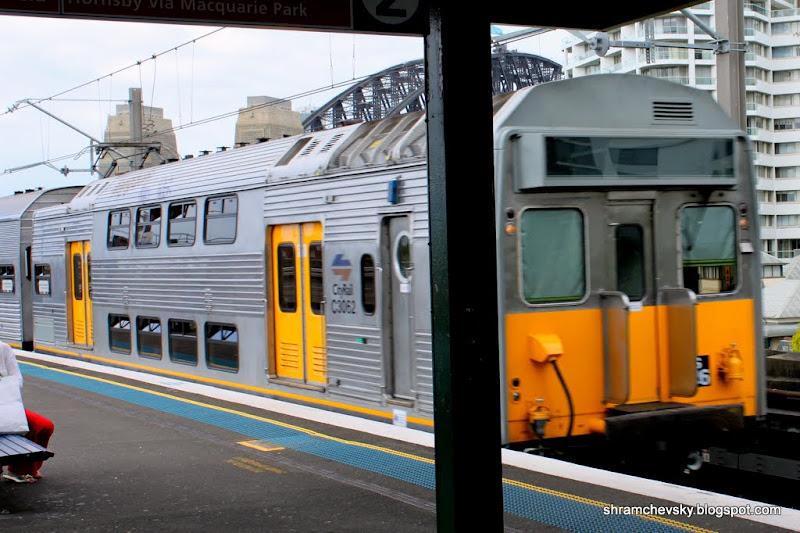 Sydney Metro Train DoubleDecker Car Сидней Метро Поезд Двухэтажный Вагон