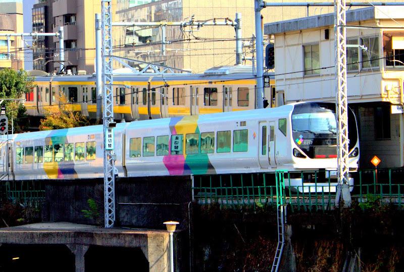 Япония Токио Метро Электричка Поезд JR