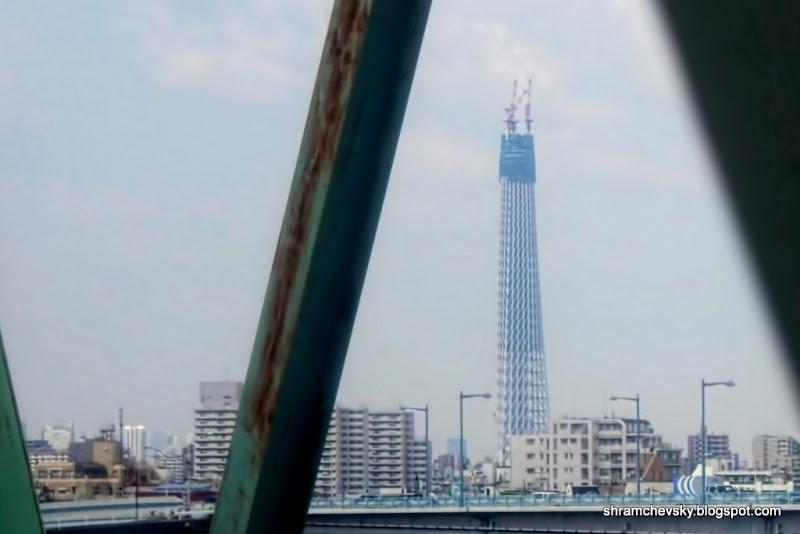 Japan New Tokyo Tower Sky Tree Япония Новая Телебашня Небесное Дерево